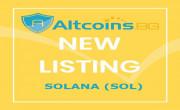 Новa валутa на Altcoins.bg - Solana (SOL)