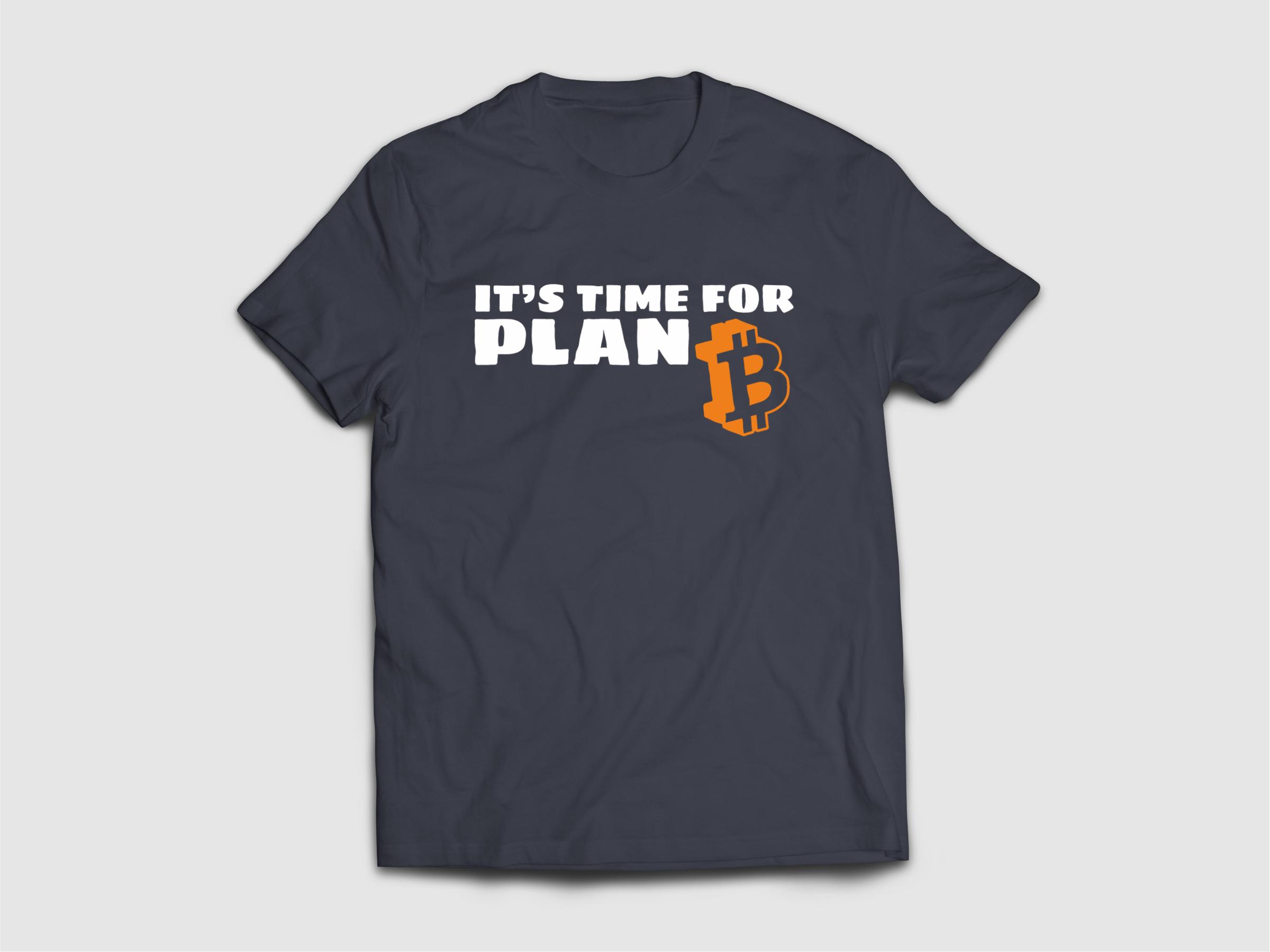 """Крипто Тениска """"Plan B"""""""