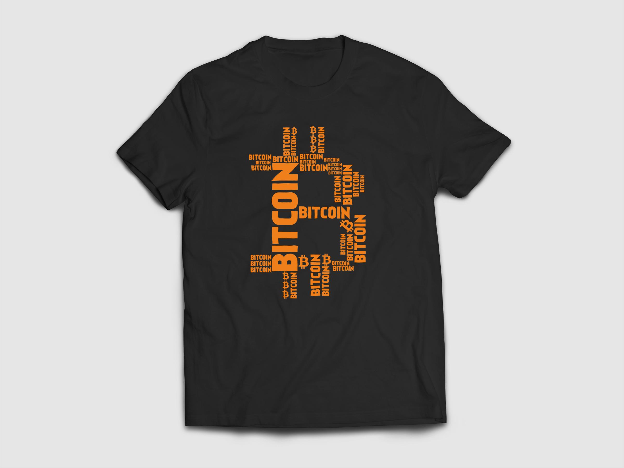 "Крипто тениска ""Bitcoin"""